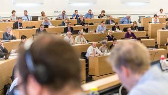 Kantonale Politik im Aargau: Der Grosse Rat in Aarau