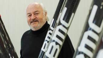 Andy Rihs begeistert sich seit über 40 Jahren für das Velo.PHILIPP WENTE/LAIF/Keystone