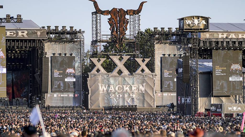 Heavy-Metal-Festival als Livestream statt in Wacken