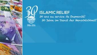 Die Islamic Relief Association erhält keine Spendengelder, die via NAB überwiesen werden.
