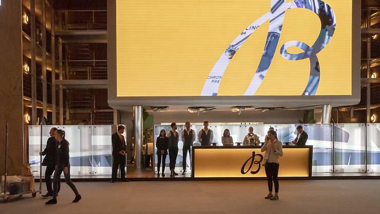 Der Stand von Breitling an der diesjährigen Schmuck- und Uhrenmesse in Basel.