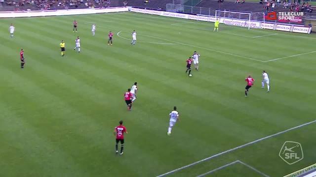 Challenge League, 2017/18, 36. Runde, FC Aarau – FC Vaduz, 1:0 Mats Hammerich