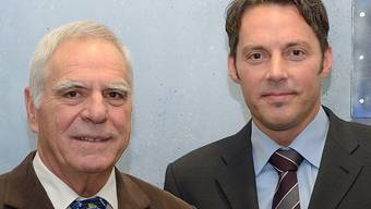 Heinrich Forster (links) und sein Nachfolger Patrick Sandmeier.