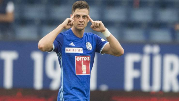 Ist Tomi Juric vielleicht bald beim FCB zu sehen?