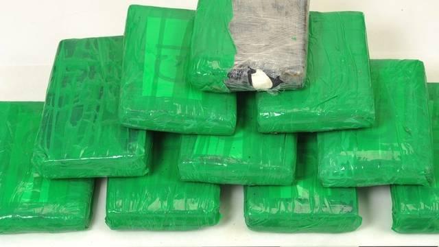 Polizeifoto des im Thurgau gefundenen Kokains