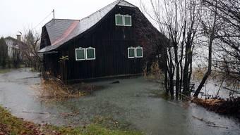 Nach starken Regenfällen im Süden Österreichs kam es am Sonntag zu Überschwemmungen rund um den Faaker See.