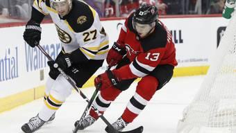 Nico Hischier erkämpft sich mit den New Jersey Devils zum Jahresabschluss einen Sieg