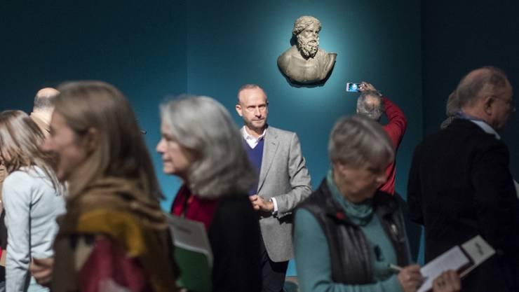 """Die Ausstellung """"Osiris - Das versunkene Geheimnis Aegyptens"""" im Museum Rietberg in Zürich lockte mehr als 104'000 Besucher an. Ein Rekord. (Archiv)"""