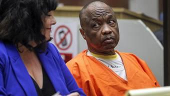 Der 63-jährige Serienmörder könnte nach Darstellung der Anklage für möglicherweise 25 Morde verantwortlich sein. Die Geschworene wollen, dass er zum Tode verurteilt wird. (Archivbild)