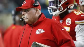 Chiefs-Coach Andy Reid: «Trainer zu sein, war für mich die beste Medizin.»
