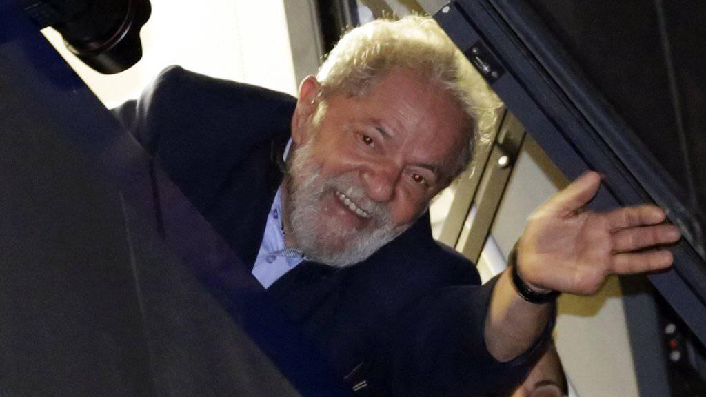 Ein Richter in Brasilien hatte kurzzeitig Freude unter tausenden Gefangenen des Landes - inklusive des inhaftierten Ex-Präsidenten Luiz Inácio Lula da Silva  - ausgelöst. (Archivbild)