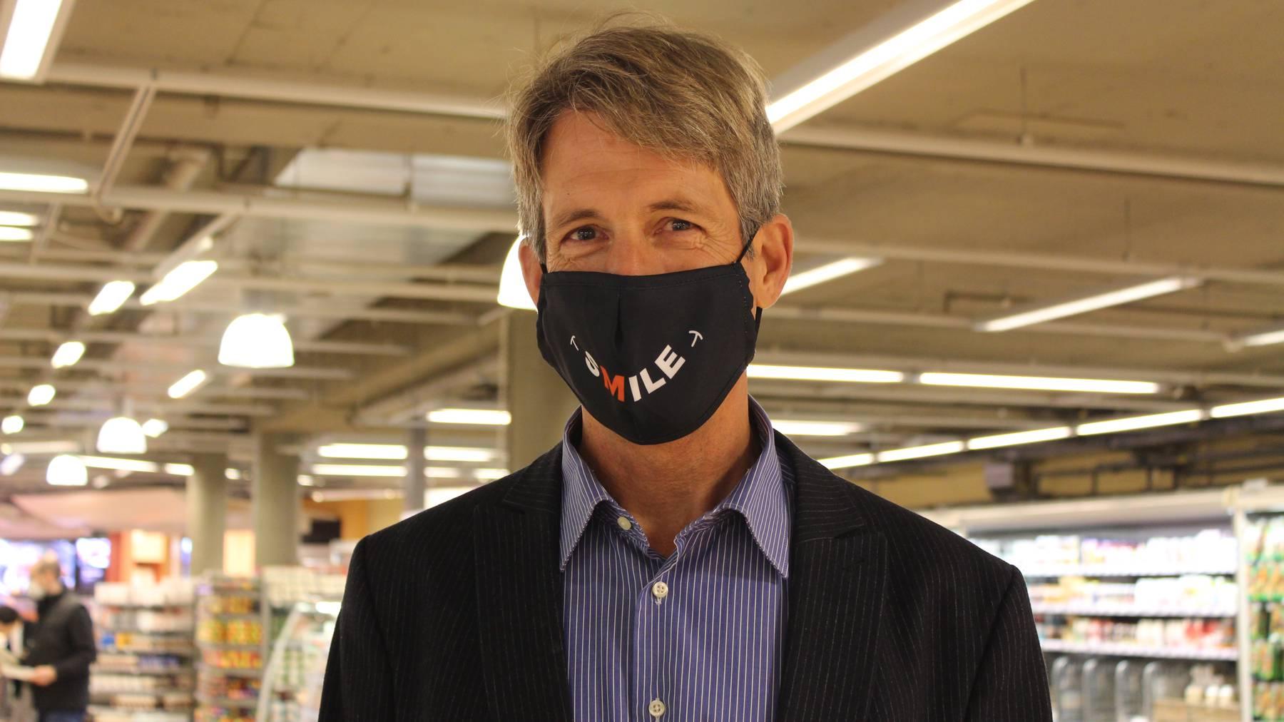 Säntispark Maskenpflicht: Mediensprecher Andreas Bühler