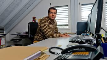 Eugène Bento, der Leiter des regionalen Steueramts, traf in Rottenschwil einen «administrativ schlechten Zustand» an.
