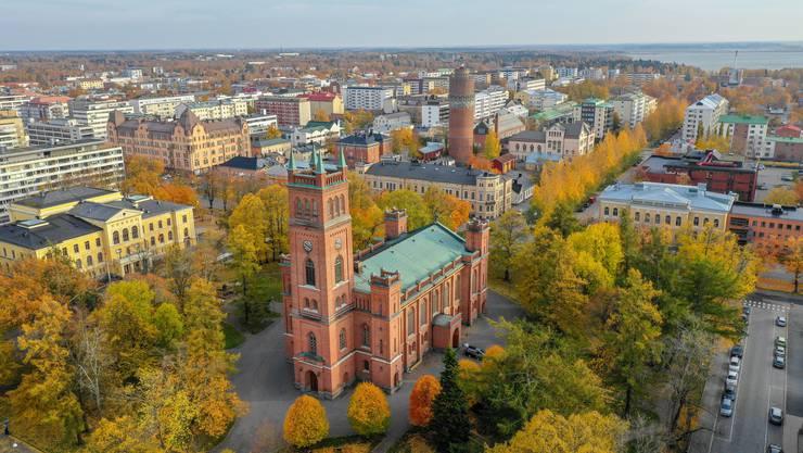 In Vaasa, der sonnigsten Stadt Finnlands, wohnen rund 68000 Personen.