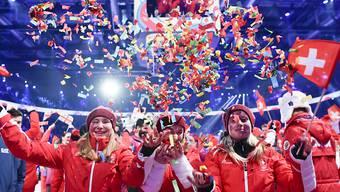 Die 112-köpfige Schweizer Delegation gewann an den Olympischen Jugend-Winterspielen in Lausanne 24 Medaillen, davon acht bronzene, sechs silberne und zehn goldene