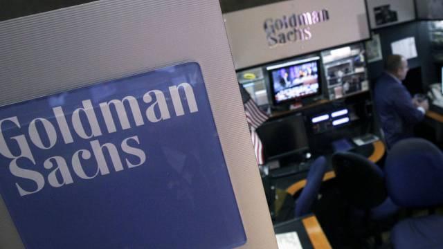 Ecke von Goldman Sachs an der New York Stock Exchange