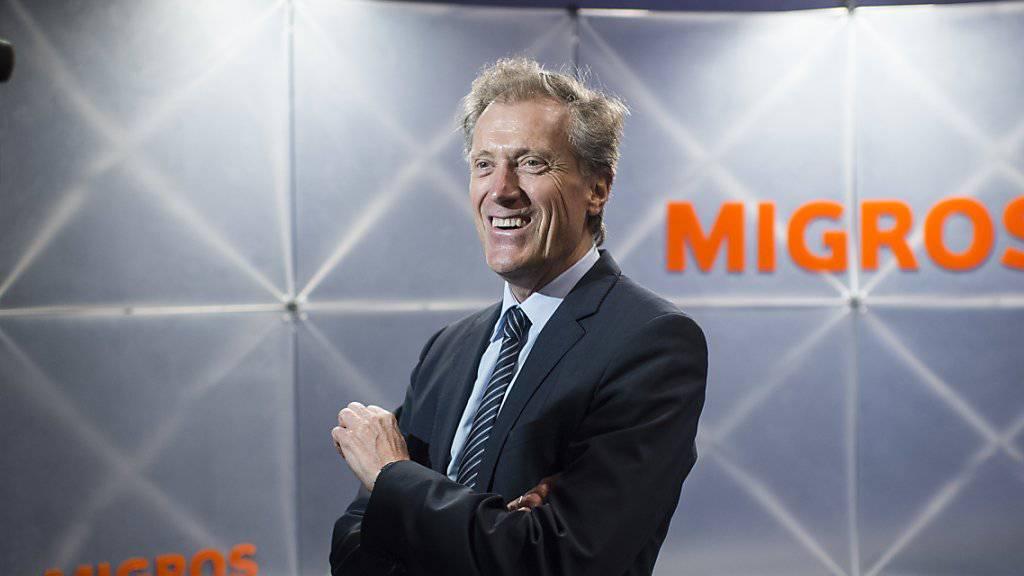 Seit 2005 ist Herbert Bolliger Chef der Migros. Am meisten Veränderungen für den Handel brachte in diesen mehr als zehn Jahren die Digitalisierung. (Archivbild)