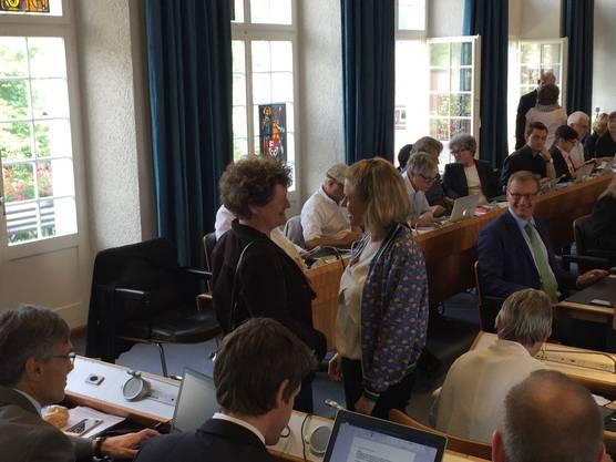 Claudia Brodbeck (CVP) rückt für die zurückgetretene Grande Dame Christine Gorrengourt nach.