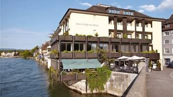 Soll in Zukunft als Hotel, Restaurant und Klinik geführt werden: Das Hotel Schiff am alten Zoll in Rheinfelden. az