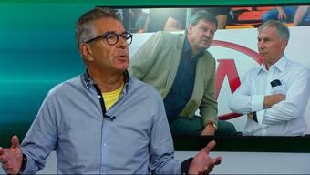 Die AZ-Sportreporter Ruedi Kuhn und Sebastian Wendel über die neue Führung, Miguel Peralta und das nächste Spiel.