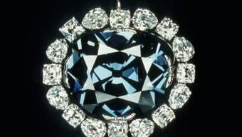 """Der legendäre """"Hope""""-Diamant könnte gemäss neuester Forschung aus fast 700 Kilometern unter der Erdoberfläche stammen. (Archivbild)"""