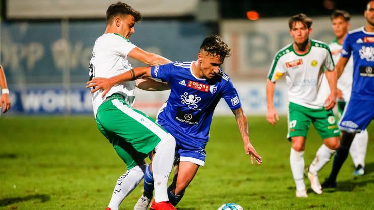 Der FC Wohlen kämpft gegen den Abstieg.