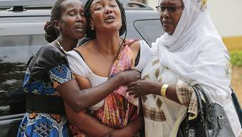 Trauer um Gewaltopfer in Burundi (Aufnahme vom Juli 2015 in der Hauptstadt Bujumbura).