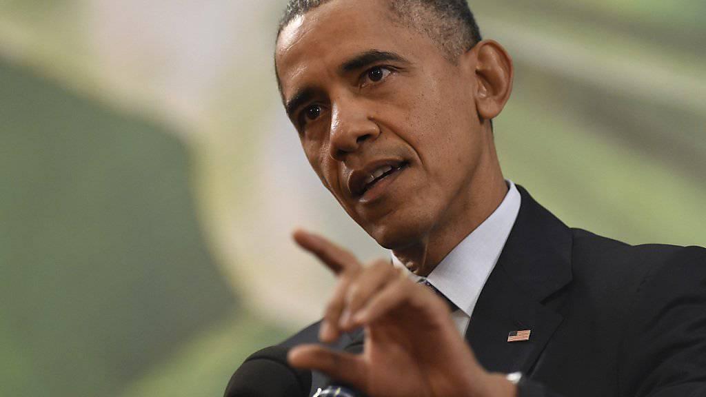 Der Widerstand in den USA gegen die Aufnahme von einigen tausend syrischen Flüchtlingen ist aus Sicht von US-Präsident Barack Obama übertrieben.