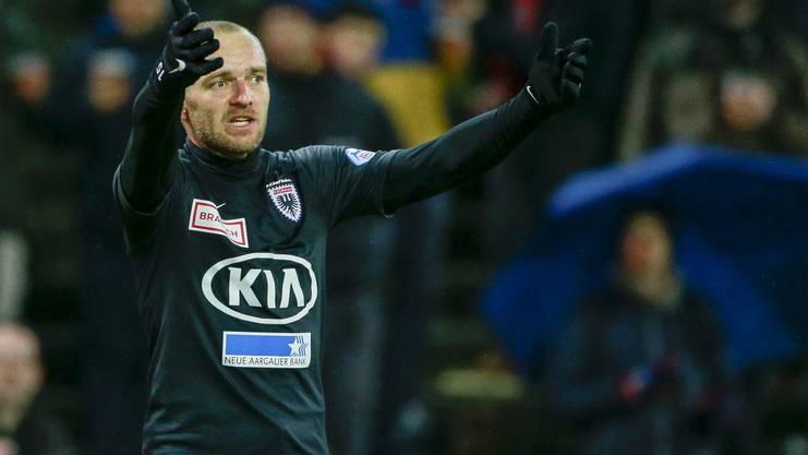Schneuwly erzielte im Aarauer Dress 7 Tore in 42 Partien.