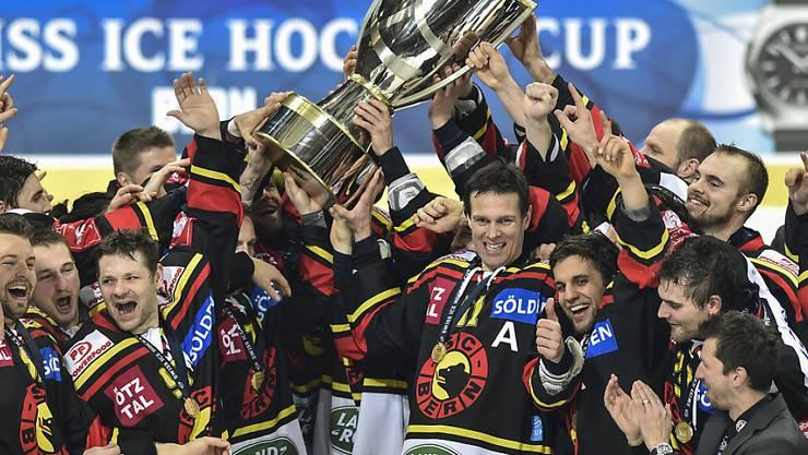 Der SC Bern tritt im Schweizer Cup als Titelverteidiger an