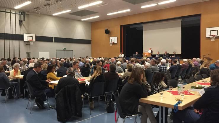 Gemeindeversammlung in Oberrohrdorf