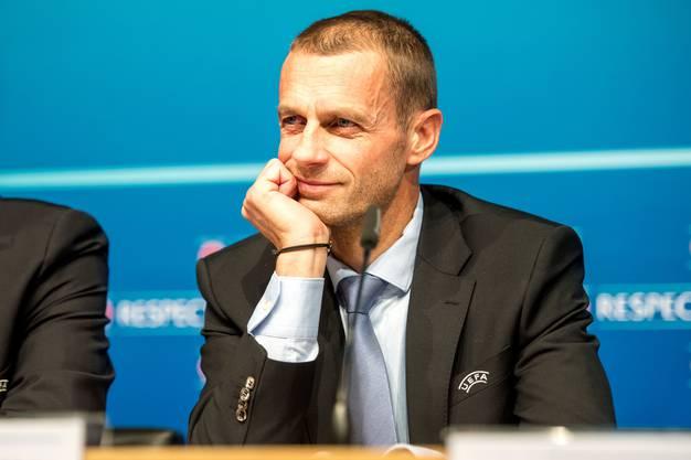 Uefa-Präsident Aleksander Ceferin