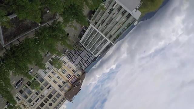 Solothurn auf dem Kopf: Eine Fahrt auf dem Rätscher der Familie Steiger am «Budemäret» in Solothurn