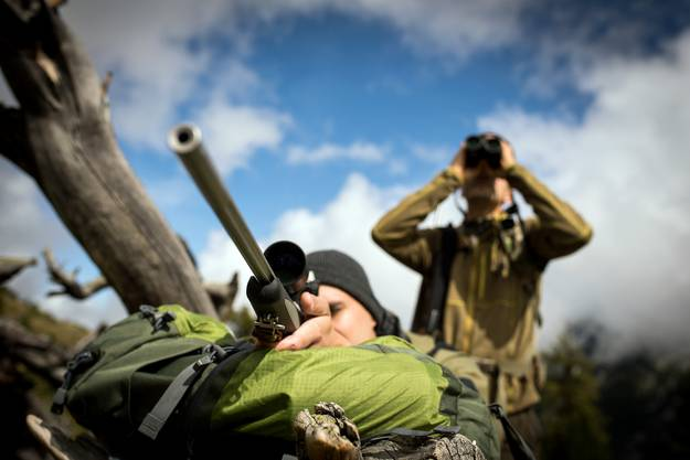 Rund 2400 Jäger gehen jeweils Ende September auf die Walliser Hochjagd.