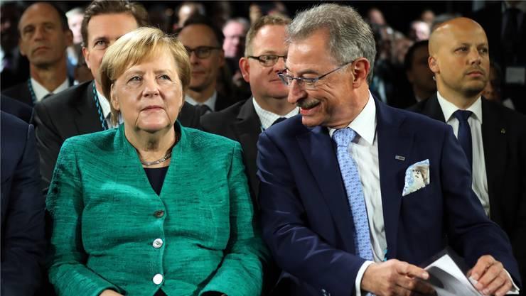 Angela Merkel. Epa/KeyStone