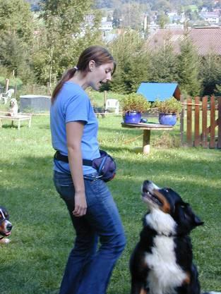 Halterin und Hund müssen dabei an einem Strang ziehen.