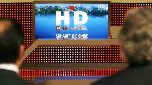 Das Schweizer Fernsehen wird schärfer (Archiv)