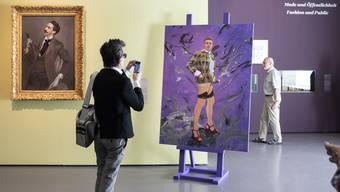 Ein Blick in die Ausstellung «Fashion Drive. Extreme Mode in der Kunst» im Kunsthaus in Zürich