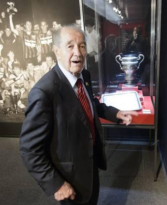 Der grosse Mann hinter dem Verein: Unternehmer Gilbert Facchinetti. Seine Millionen machten die Erfolge möglich, konnten den Verein aber nicht vor dem Untergang retten.
