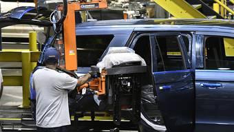 Unter den im Internet aufgetauchten Angaben zu den Autobauern waren auch streng gehütete Geheimnisse etwa zu Produktionsabläufen. (Symbolbild)