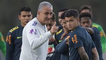 Coach Tite sieht den WM-Spielen Brasiliens positiv entgegen