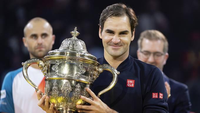 Roger Federer will seinen zehnten Titel an den Swiss Indoors.