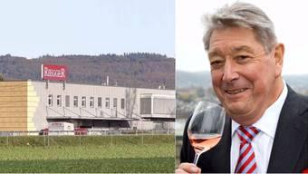 Peter Riegger und der Weinkeller Riegger AG.