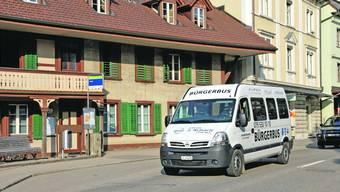 In Huttwil funktioniert der Gondiswiler Bürgerbus zugleich als Ortsbus.