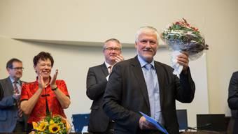 Verabschiedung von Esther Gassler und Peter Gomm und Vereidigung des neuen Regierungsrats