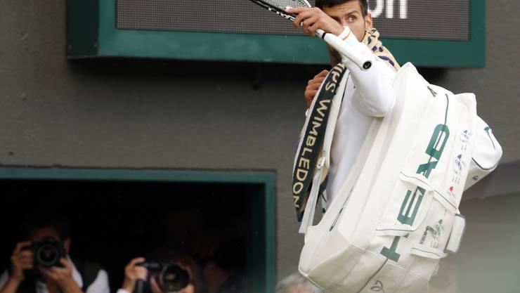 Überraschender Abschied: Novak Djokovic ist in Wimbledon in der 3. Runde ausgeschieden