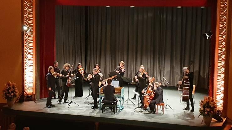 Die Cappella Gabetta mit dem Trompeter Sergei Nakariakov.