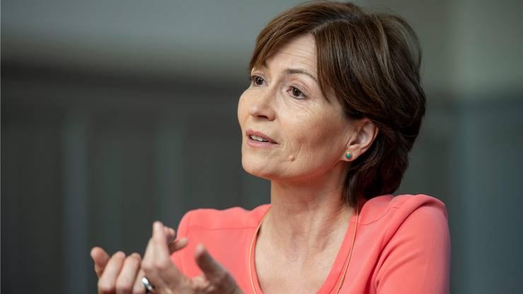 Einsame Kämpferin: Die Grünen-Präsidentin Regula Rytz warnt vor Kahlschlag in den Gemeindekassen.