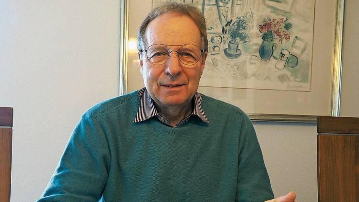 Werner Brogli hat er die Sammlung inventarisiert und übergibt sie dem Kanton.