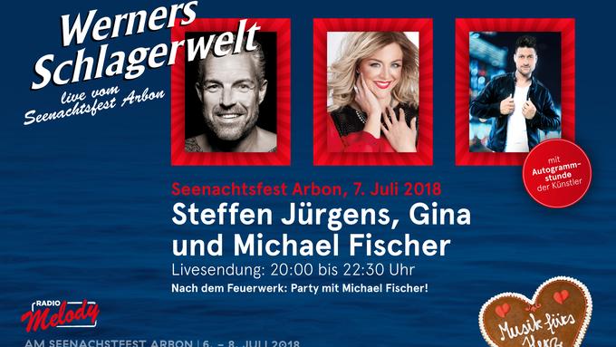 Werners Schlagerwelt live vom Seenachtsfest Arbon